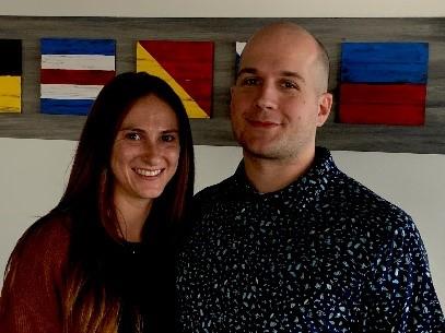 Nicholas Stonehouse and Bethany Polovitz