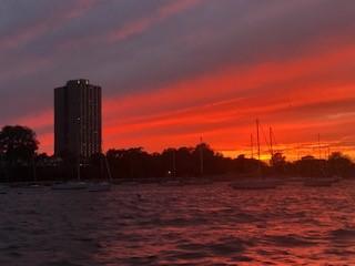 tender sunset